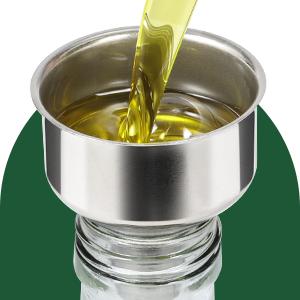 e5ffab27 a9ad 44c0 9726 7f76bc7d3903.  CR0,0,300,300 PT0 SX300 V1    - Aozita 17oz Glass Olive Oil Dispenser Bottle - 500ml Clear -Oil & Vinegar Cruet with Pourers and Funnel - Olive Oil Carafe Decanter for Kitchen