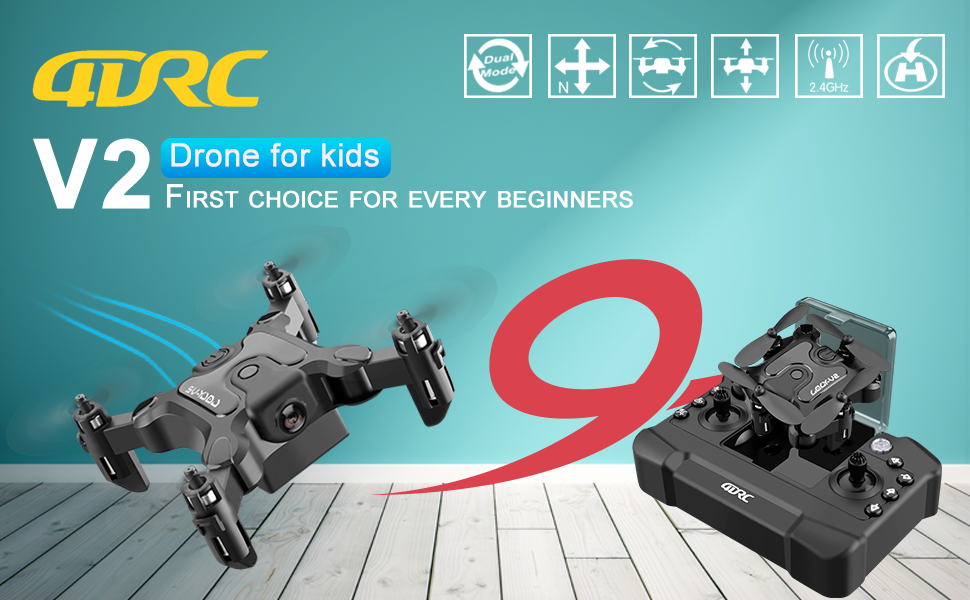 e75c64af 9373 4324 be9c 78d73a687211.  CR0,0,970,600 PT0 SX970 V1    - 4DRC V2 Foldable Mini Nano Drone for Kids Beginners Gift,Pocket RC Quadcopter with 3 Batteries,Altitude Hold, Headless Mode, 3D Flips, One Key Return, 3 Speed Modes, Easy Fly for Beginners Boys Girls