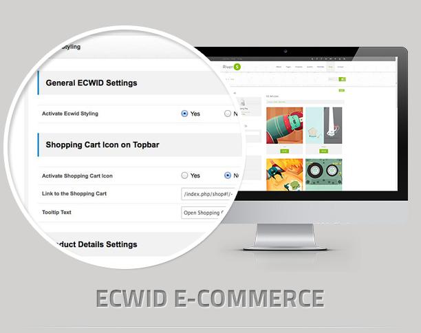 ecwid - RiverS Responsive Multi-Purpose Joomla Template