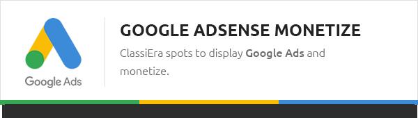 google support - Classiera – Classified Ads WordPress Theme