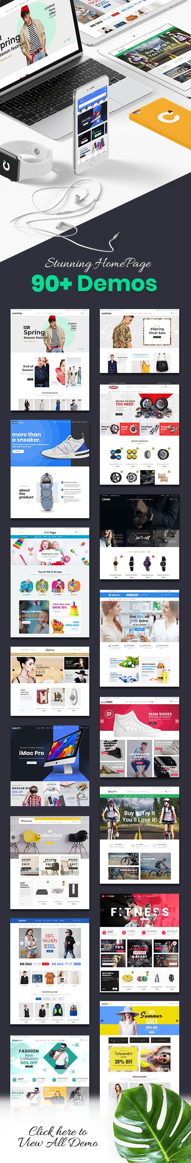 home demo welcome - CiyaShop - Responsive Multi-Purpose WooCommerce WordPress Theme