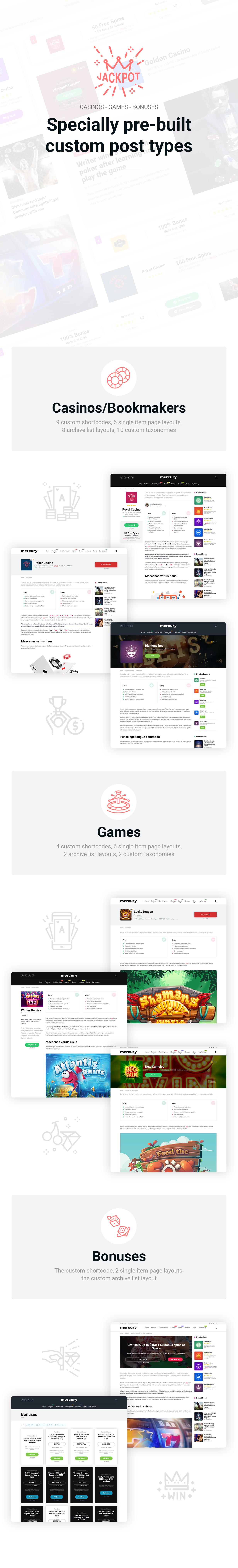 item page landing 2 - Mercury - Affiliate WordPress Theme. Casino, Gambling & Other Niches. Reviews & News