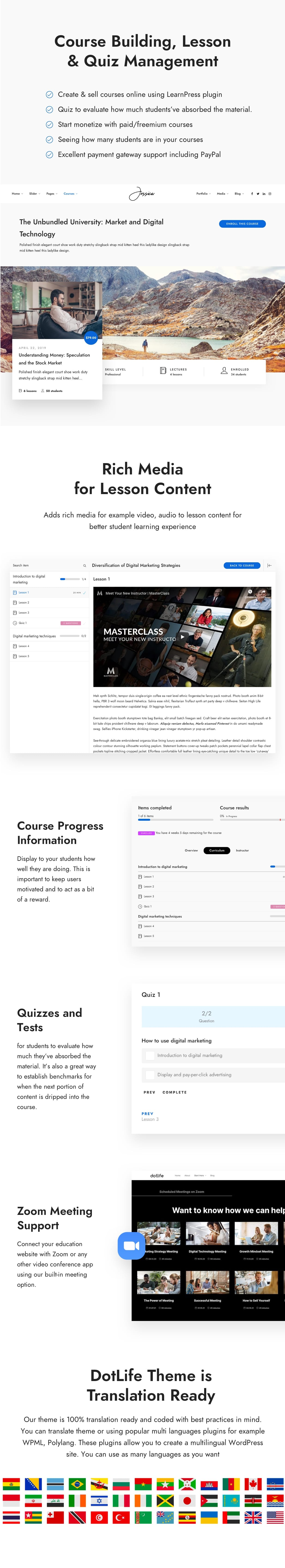 learnpress4 - DotLife | Coach Online Courses WordPress