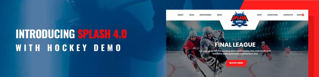 new demo hockey - Splash - Sport Club WordPress Theme for Basketball, Football, Hockey