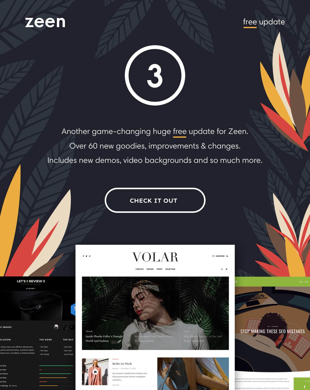 news wordpress theme 2020 - Zeen | Next Generation Magazine WordPress Theme