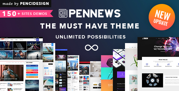 pennews preview150.  large preview - Fable - Children Kindergarten WordPress Theme