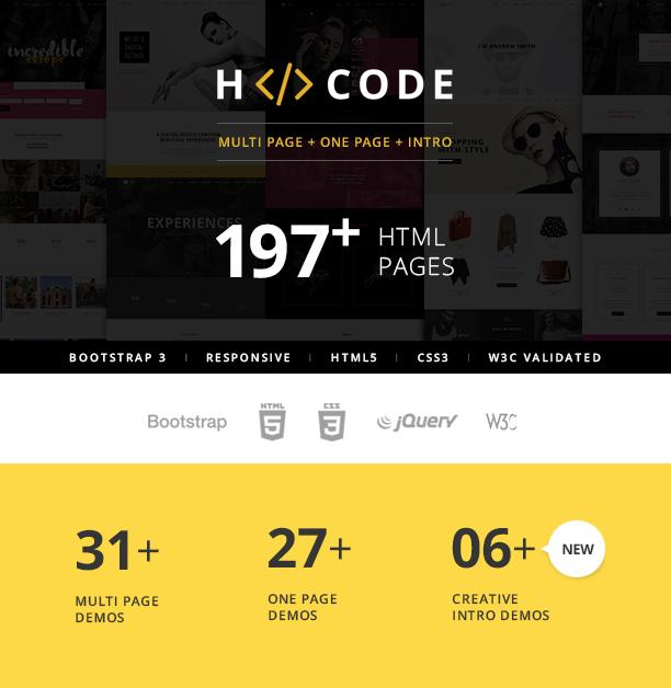 presentation1 - H-Code Multipurpose OnePage & Multi Page Template