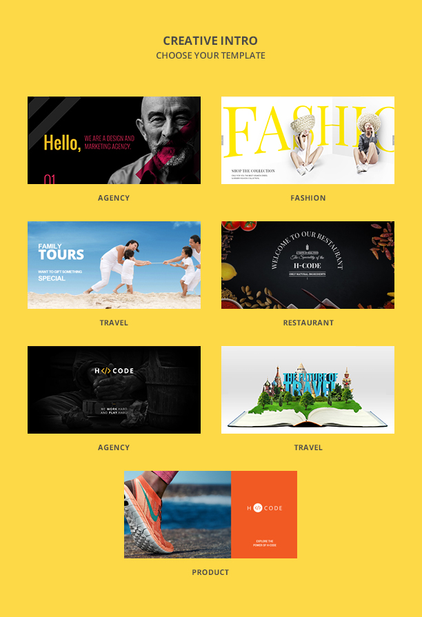 presentation4 - H-Code Multipurpose OnePage & Multi Page Template