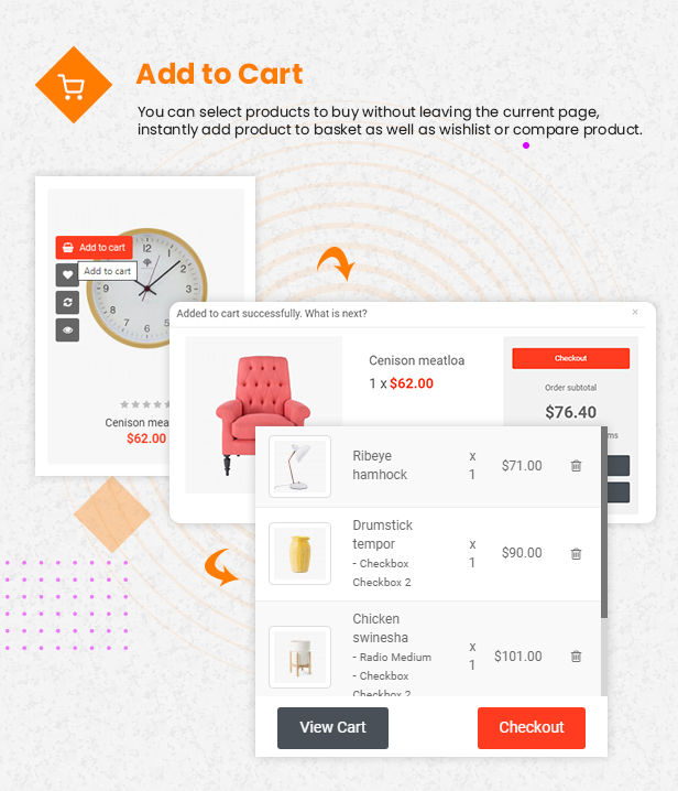 quickview - eMarket - Multi-purpose MarketPlace OpenCart 3 Theme (30+ Homepages & Mobile Layouts Included)