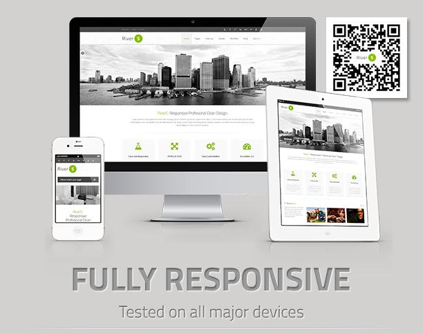 responsive - RiverS Responsive Multi-Purpose Joomla Template