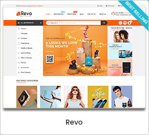 revo - eMarket - Multi Vendor MarketPlace Elementor WordPress Theme (34+ Homepages & 3 Mobile Layouts)