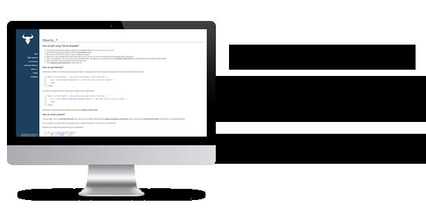 second rtu - Taurus - Responsive Bootstrap Admin Template