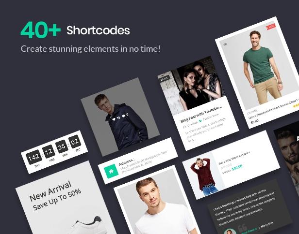 shortcode - CiyaShop - Responsive Multi-Purpose WooCommerce WordPress Theme