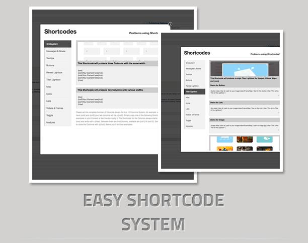 shortcode - RiverS Responsive Multi-Purpose Joomla Template