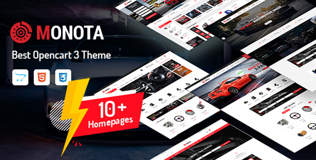 so monota - eMarket - Multi-purpose MarketPlace OpenCart 3 Theme (30+ Homepages & Mobile Layouts Included)