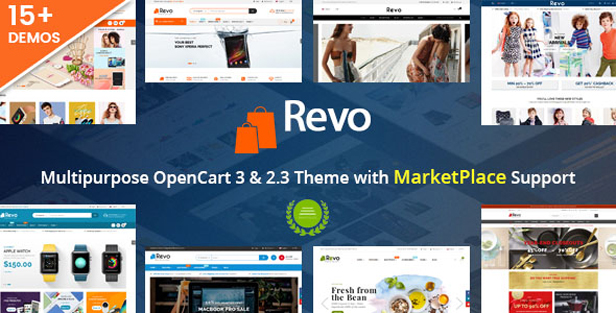 so revo - eMarket - Multi-purpose MarketPlace OpenCart 3 Theme (30+ Homepages & Mobile Layouts Included)