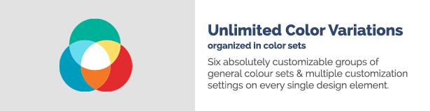 teaser color sets - HEALTHFLEX - Doctor Medical Clinic & Health WordPress Theme