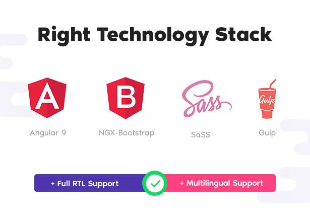tech - Drift - Angular 10 Admin Template with BootStrap 4