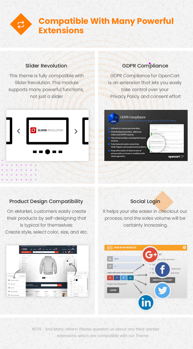 third party - eMarket - Multi-purpose MarketPlace OpenCart 3 Theme (30+ Homepages & Mobile Layouts Included)