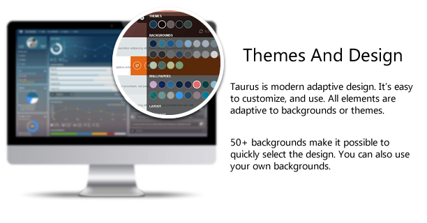 third rtu - Taurus - Responsive Bootstrap Admin Template