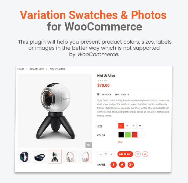 variation swatches - eMarket - Multi Vendor MarketPlace Elementor WordPress Theme (34+ Homepages & 3 Mobile Layouts)