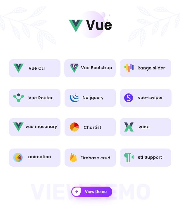 vue - Cuba- Bootstrap 4 & 5 HTML, React, Angular 11, VueJS & Laravel Admin Dashboard Template