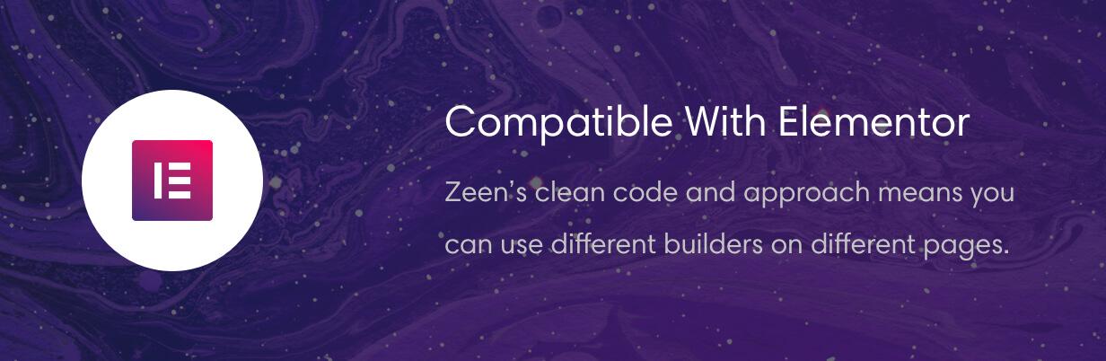 zeen elementor - Zeen | Next Generation Magazine WordPress Theme