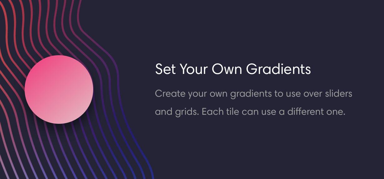 zeen grid gradient - Zeen | Next Generation Magazine WordPress Theme