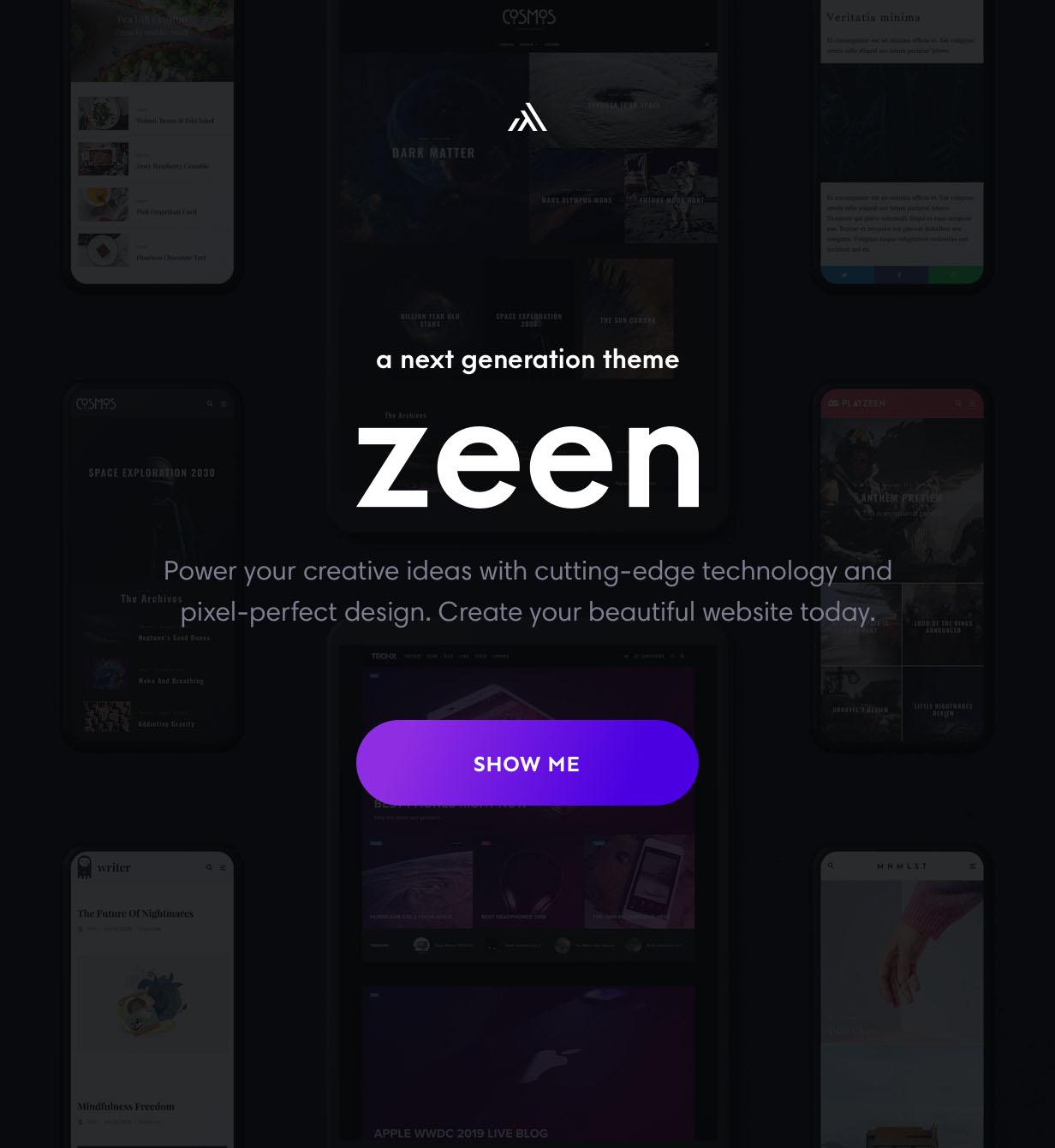 zeen magazine wordpress theme - Zeen | Next Generation Magazine WordPress Theme