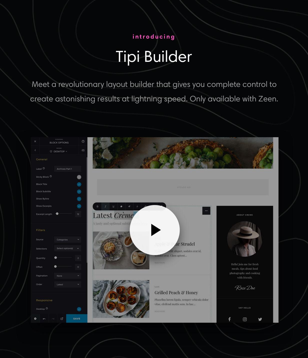 zeen meet tipi builder - Zeen | Next Generation Magazine WordPress Theme