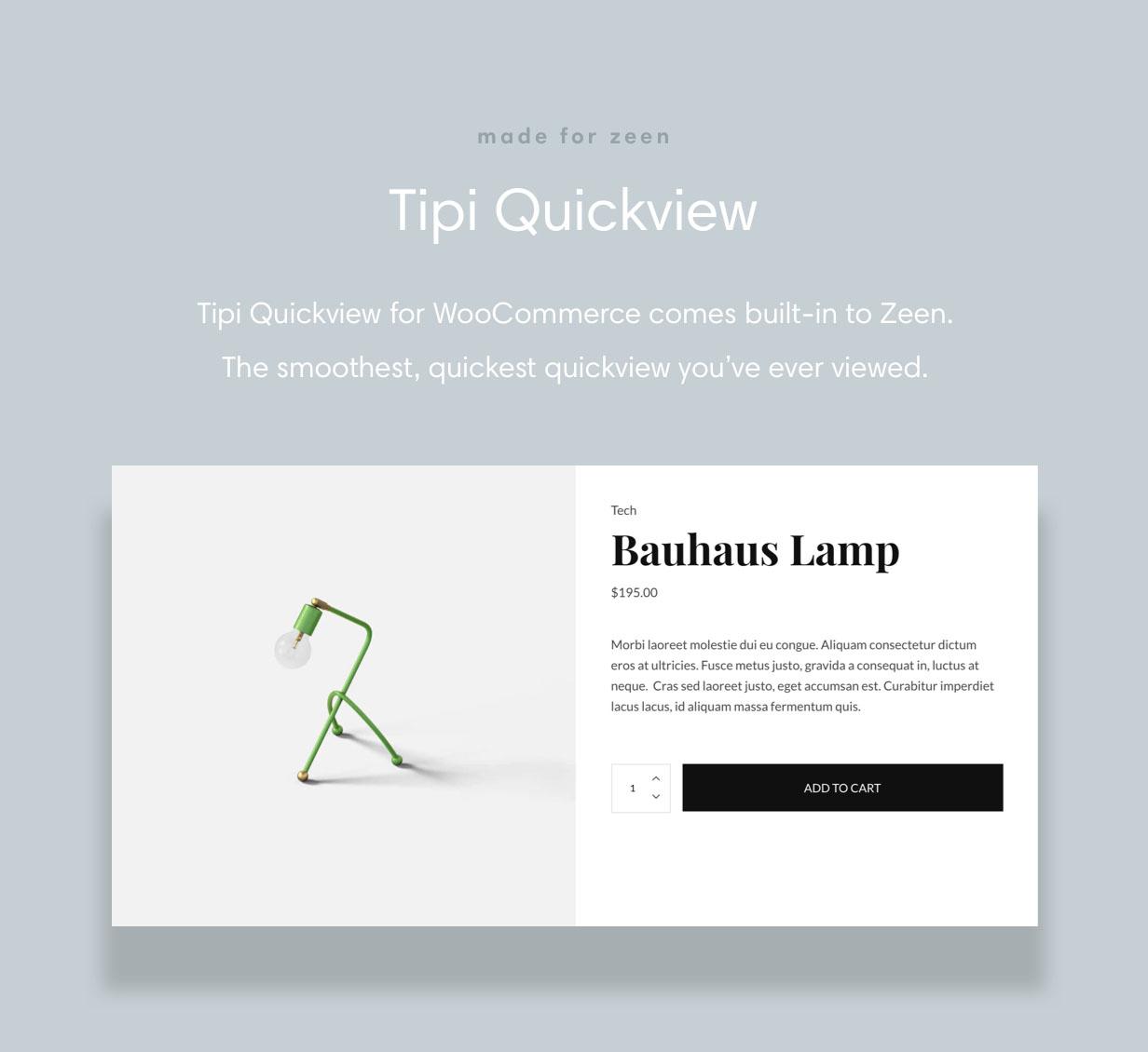 zeen quickview shop - Zeen | Next Generation Magazine WordPress Theme
