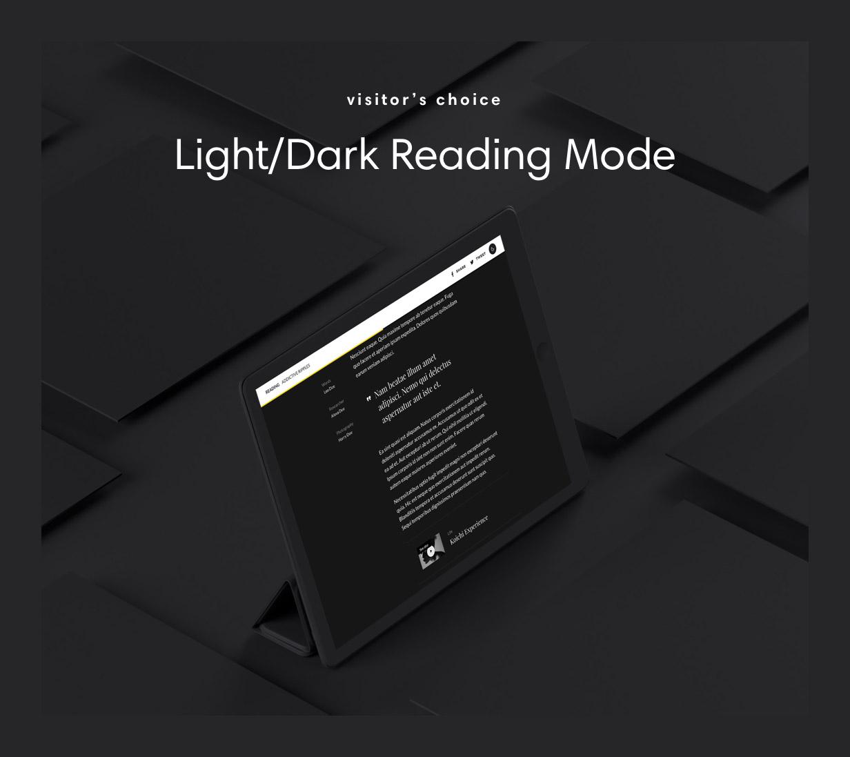 zeen reading mode - Zeen | Next Generation Magazine WordPress Theme