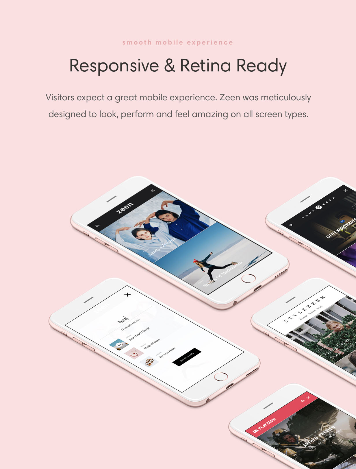 zeen responsive - Zeen | Next Generation Magazine WordPress Theme