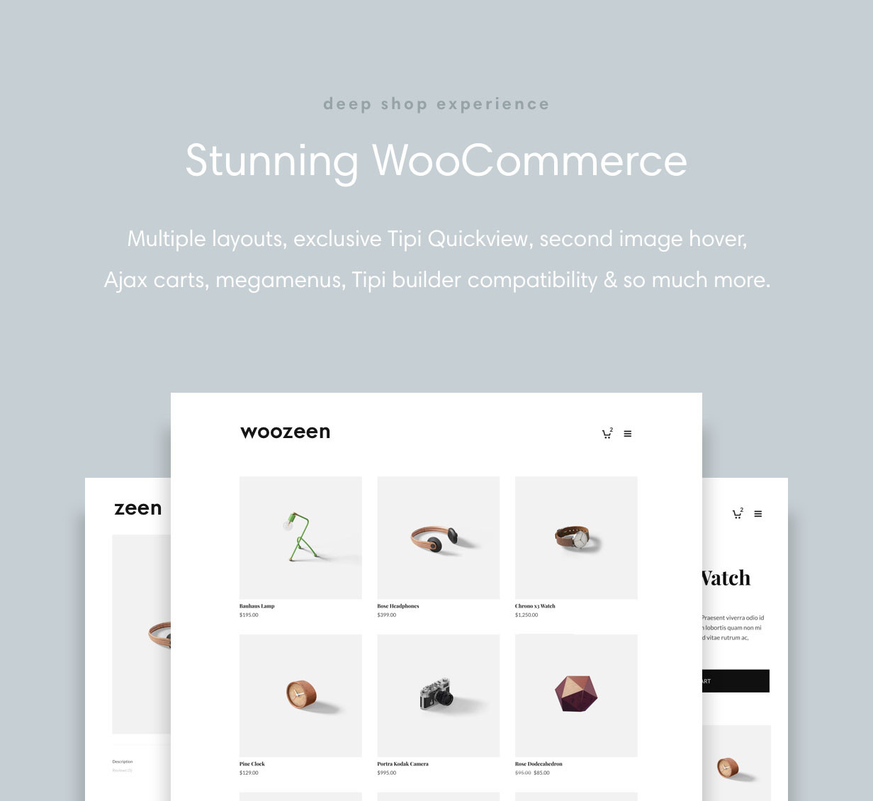 zeen woocommerce - Zeen | Next Generation Magazine WordPress Theme