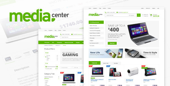 00 Preview.  large preview - MediaCenter - Electronics Store WooCommerce Theme