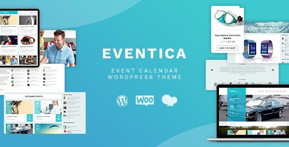 00 eventica preview.  large preview - Eventica - Event Calendar & Ecommerce WordPress Theme