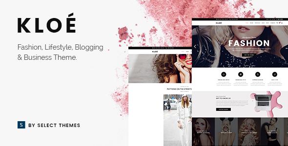 00 preview.  large preview - Kloe - Fashion & Lifestyle Multi-Purpose Theme