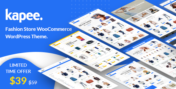 01 Preview.  large preview - Kapee - Modern Multipurpose WooCommerce Theme