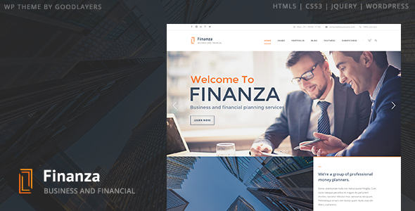 01 intro.  large preview - Finanza - Business & Financial WordPress