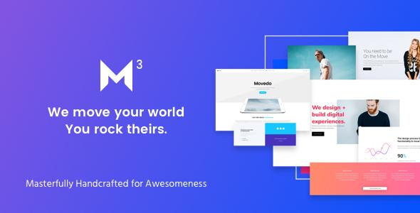 01 preview image.  large preview - Movedo - Responsive Multi-Purpose WordPress Theme