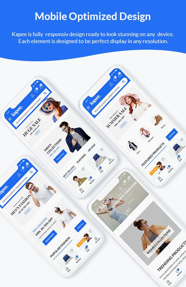 02 mobile optimize 01 - Kapee - Modern Multipurpose WooCommerce Theme