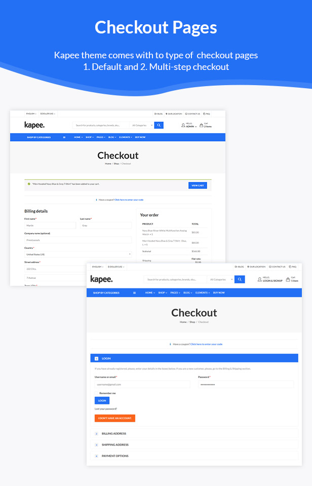 12 checkout page - Kapee - Modern Multipurpose WooCommerce Theme