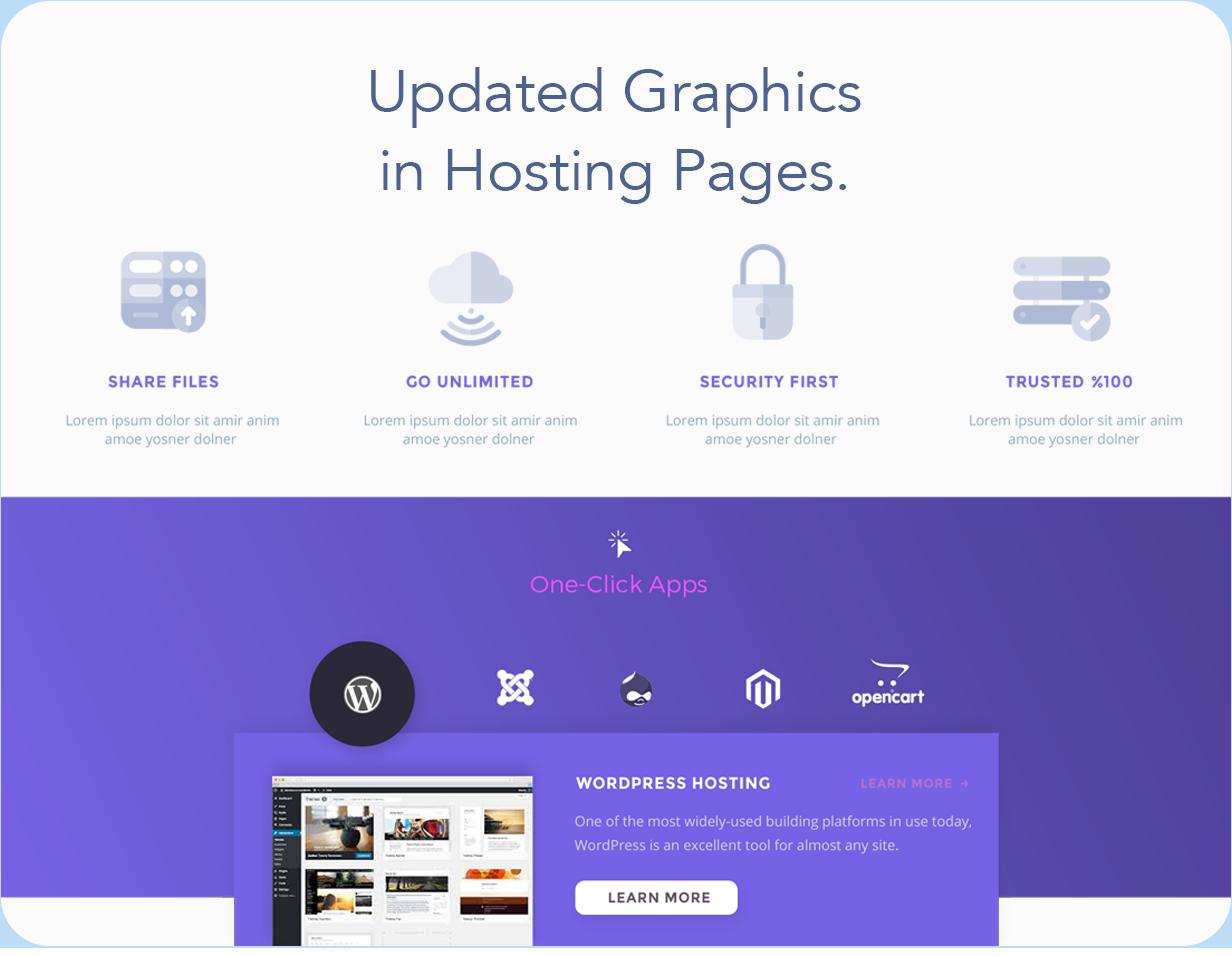 12 - Hostify — Hosting HTML & WHMCS Template