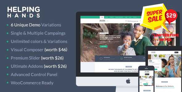 1626276517 368 01 preview.  large preview - Charity WordPress Theme | HelpingHands