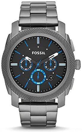 1626483791 51lqCnmXj6L. AC  276x445 - Fossil Men's Machine Stainless Steel Quartz Chronograph Watch