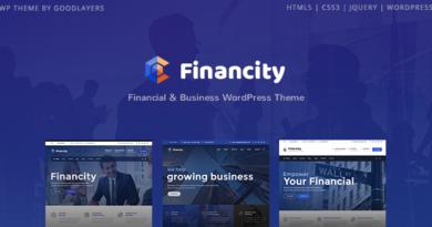 Financity – Business / Financial / Finance WordPress
