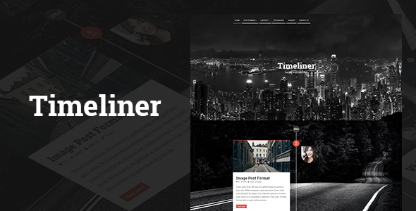 1627446277 12 preview.  large preview - Timeliner | Responsive Timeline Blogging WP Theme