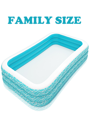 """20da000f 0926 495b 9c01 e7e5c527077d.  CR0,0,300,400 PT0 SX300 V1    - heytech Family Inflatable Swimming Pool, 118"""" X 72"""" X 22"""" Full-Sized Inflatable Lounge Pool for Kiddie, Kids, Adult, Toddlers for Ages 3+, Outdoor, Garden, Backyard Summer Water Party Blow up Pool…"""