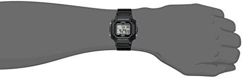 21eT5SG0EsL. AC  - Casio Men's F108WH Illuminator Collection Black Resin Strap Digital Watch