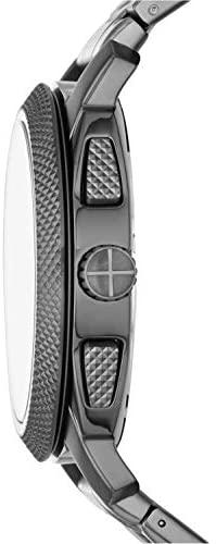 31HJVbY9vYL. AC  - Fossil Men's Machine Stainless Steel Quartz Chronograph Watch